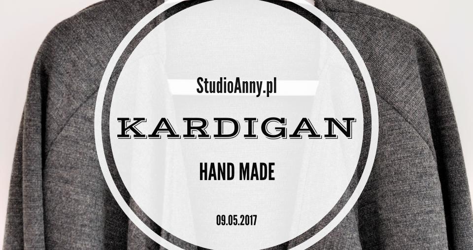 Kardigan – Burda 8/2011