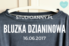 Bluzka dzianinowa Burda 4/2011 Model 118
